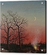 Incantations Of The Witch Acrylic Print by Tom Shropshire
