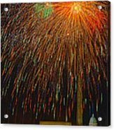 Independence Day In Dc 3 Acrylic Print by David Hahn