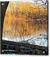 Indiana Dock Acrylic Print by Joyce Kimble Smith
