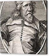 Inigo Jones, British Architect Acrylic Print by Middle Temple Library