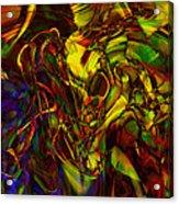 Injections Acrylic Print by Linda Sannuti