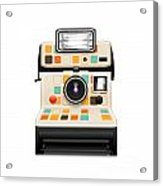 Instant Camera Acrylic Print by Setsiri Silapasuwanchai