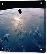 Intelsat Vi, A Communication Satellite Acrylic Print by Everett
