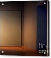 Interior Corner Acrylic Print by Susan Isakson