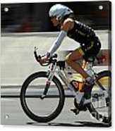 Ironman 2012 Flying By Acrylic Print by Bob Christopher