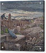 Isaiahs Vision Acrylic Print by Granger