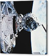 Iss Module Unity Acrylic Print by Science Source