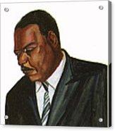 Issa Hayatou Acrylic Print by Emmanuel Baliyanga