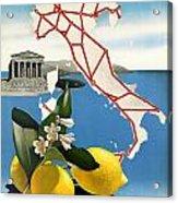 Italy Acrylic Print by Georgia Fowler