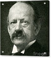 J. J. Thomson, English Physicist Acrylic Print by Science Source