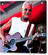 Jack Bordo With Old Friends Band Reunion 2010 Acrylic Print by Mary Frances