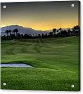 Jack Nicklaus Golf Course Acrylic Print by Jay Hooker