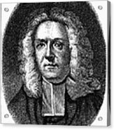 James Blair (1655-1743) Acrylic Print by Granger