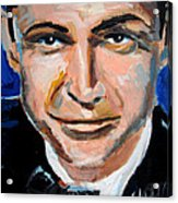 James Bond  Acrylic Print by Jon Baldwin  Art