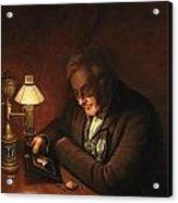 James Peale Acrylic Print by Charles Willson Peale