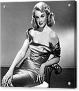 Jan Sterling, 1950s Acrylic Print by Everett