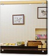 Japanese Breakfast Buffet Acrylic Print by Jeremy Woodhouse