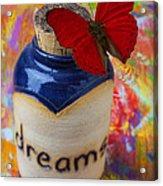 Jar Of Dreams Acrylic Print by Garry Gay