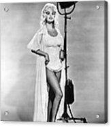 Jayne Mansfield, Ca. 1962 Acrylic Print by Everett