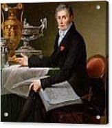 Jean-baptiste-claude Odiot Acrylic Print by Robert Lefevre