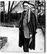 Jean Piaget, Author, 1974 Acrylic Print by Everett