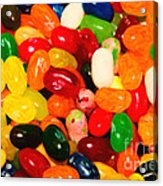 Jelly Belly - Painterly Acrylic Print by Wingsdomain Art and Photography
