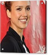 Jessica Alba At A Public Appearance Acrylic Print by Everett