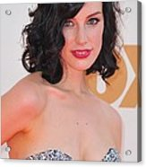 Jessica Pare At Arrivals For The 63rd Acrylic Print by Everett