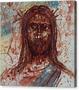 Jesus Christ Acrylic Print by Thomas Lentz