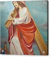 Jesus Acrylic Print by Prasenjit Dhar