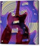 Jet Screamer - Guild Jet Star Acrylic Print by Bill Cannon