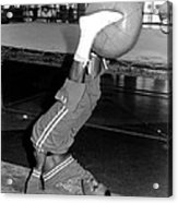 Joe Frazier In Training At The Concord Acrylic Print by Everett