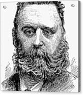 Johann Joseph Most Acrylic Print by Granger
