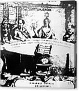 Johannes Hevelius, Polish Astronomer Acrylic Print by Ria Novosti
