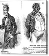John Brown Cartoon, 1859 Acrylic Print by Granger