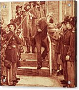 John Brown: Execution Acrylic Print by Granger