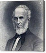 John Greenleaf Whittier 1807-1892 Acrylic Print by Everett