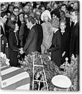 Johnson Funeral, 1973 Acrylic Print by Granger