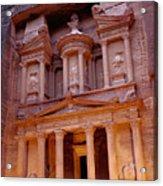 Jordan, Petra, The Treasury Acrylic Print by Nevada Wier