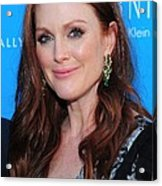Julianne Moore At Arrivals For The Kids Acrylic Print by Everett
