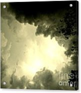 Just Look Up Acrylic Print by Kimberly Dawn Hendley