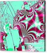Kabuki Acrylic Print by Wingsdomain Art and Photography