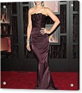 Kate Beckinsale Wearing A J. Mendel Acrylic Print by Everett
