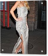 Kate Hudson Wearing Lanvin Gown Acrylic Print by Everett