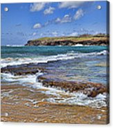 Kauai Beach 2 Acrylic Print by Kelley King