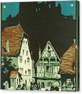 Kaysersberg Alsace Acrylic Print by Georgia Fowler