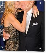 Kelly Ripa, Regis Philbin, Pose Acrylic Print by Everett