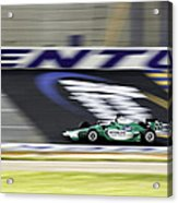 Kentucky Speedway Irl Acrylic Print by Keith Allen