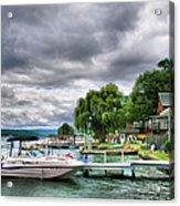 Keuka Lake Shoreline Acrylic Print by Steven Ainsworth