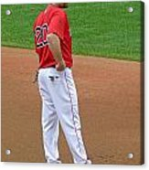 Kevin Youkilis Acrylic Print by Juergen Roth
